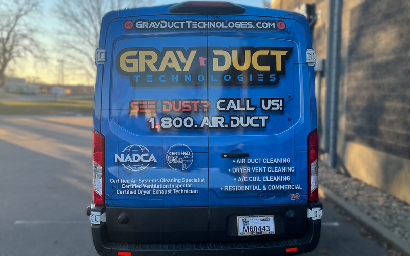 Gray Duct Technologies Truck